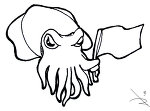 Color me cuttlefish clipart best clipart best for Cuttlefish coloring pages