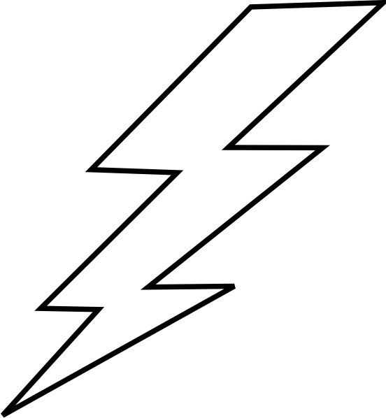 Lightning Bolt Drawing Clipart Best