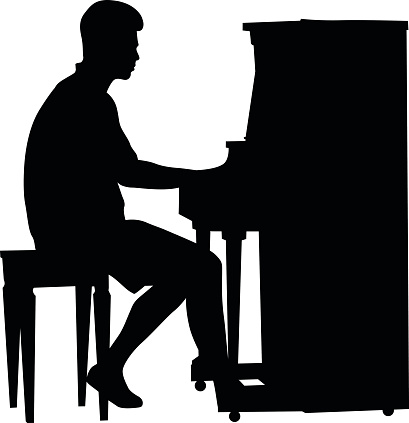 Piano Player Clip Art - ClipArt Best