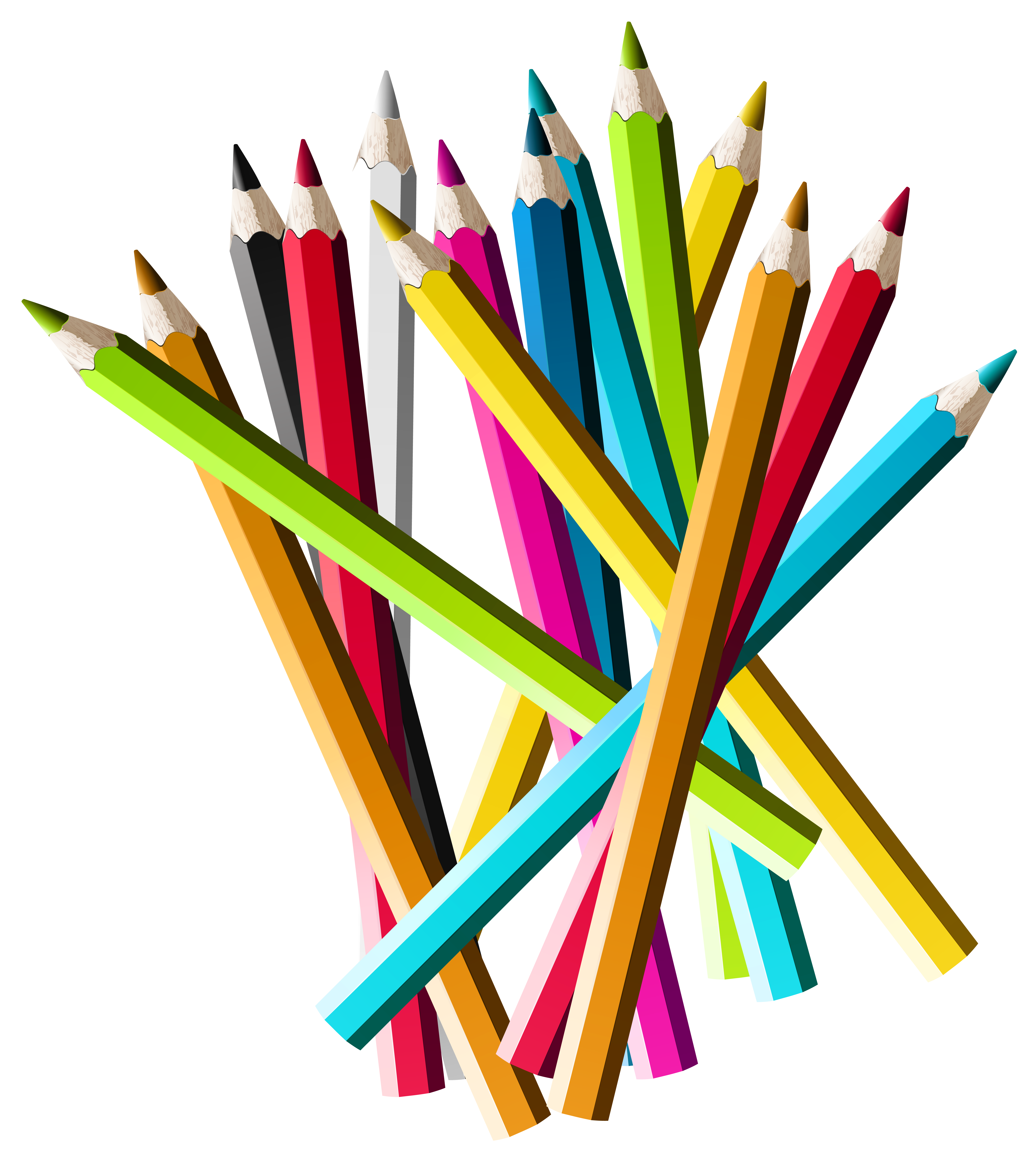 picture of pencils clipart best