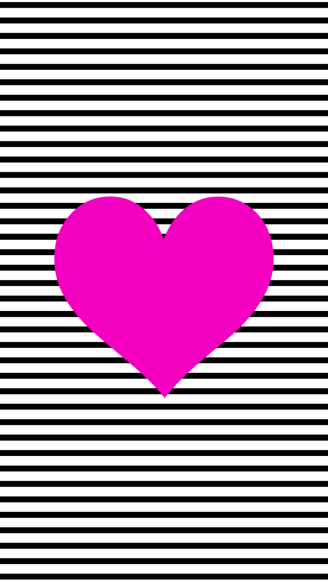 Wallpaper Hot Pink Hearts - ClipArt Best