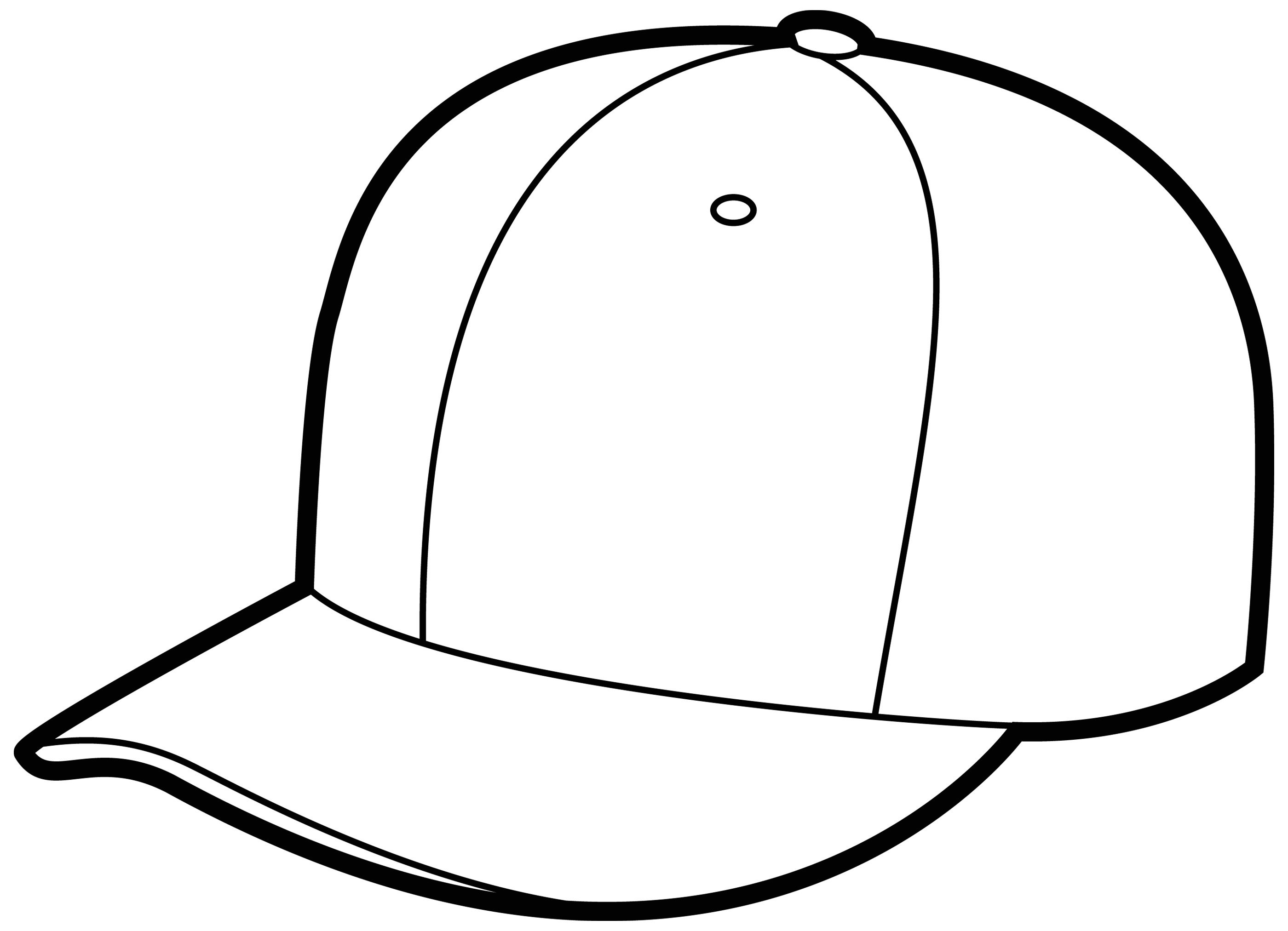 Line Drawing Hat : Cap drawing clipart best