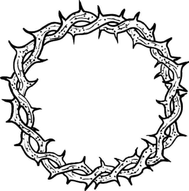 Рисунок тернового венца