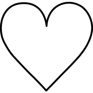 Heart Clipart Black And White Free - ClipArt Best