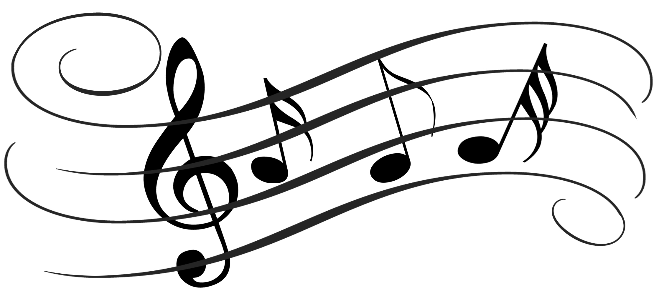 Drawings Of Music Notes | Free Download Clip Art | Free Clip Art ...
