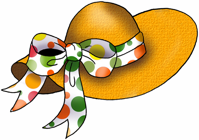 Tea Party Hat Clipart