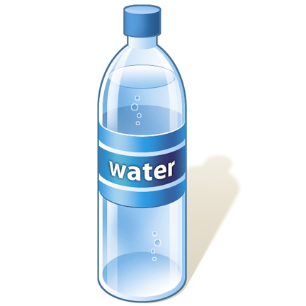 Bottle Of Water Cartoon - ClipArt Best