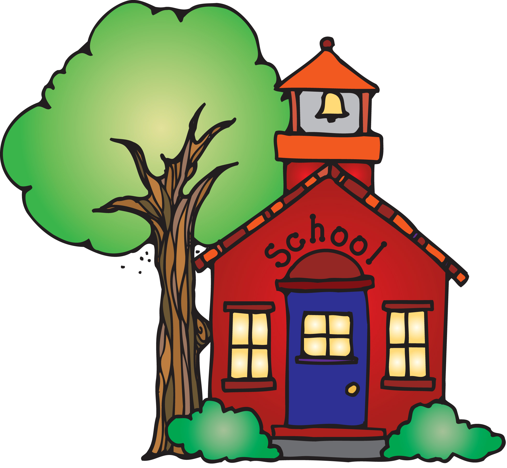 Cute Room Designs Pictures Of School House Clipart Best