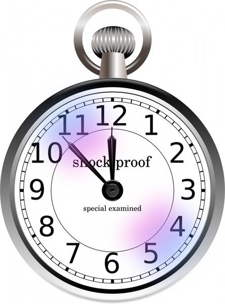 pocket watch vector clipart best