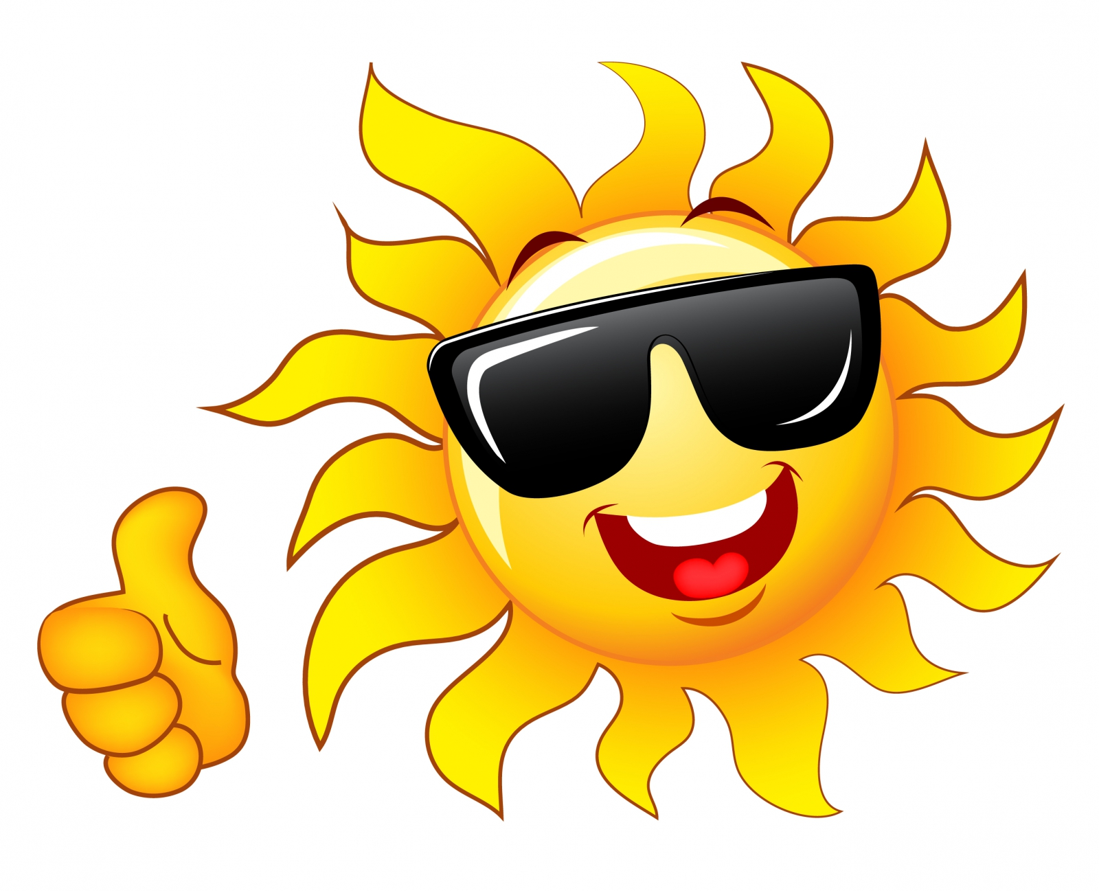 Clip Art Free Clip Art Sun clipart sun with sunglasses best clip art free download