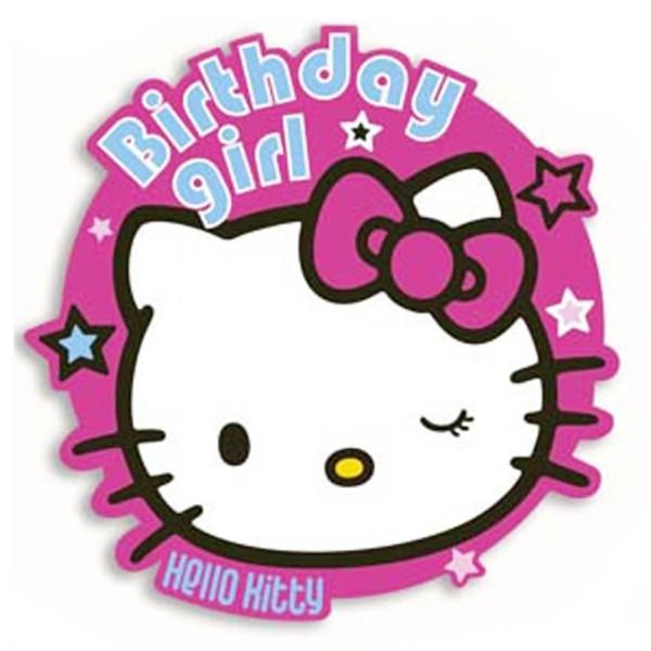clipart hello kitty birthday - photo #33