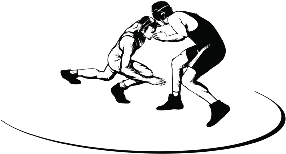 Wrestling Designs Clip Art
