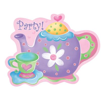 Similiar Tea Party Invitations Clip Art Keywords