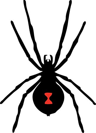 Black Widow Silhouette - ClipArt Best