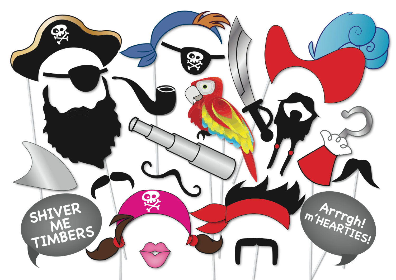 Атрибут для пиратской вечеринки своими руками