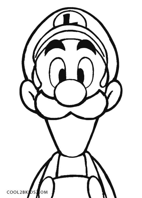 Mario Mansion Colouring - ClipArt Best