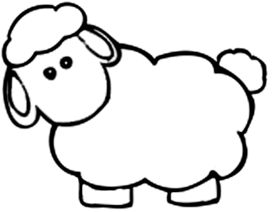 Lamb Coloring Page Lamb Coloring Page Free Coloring Pages