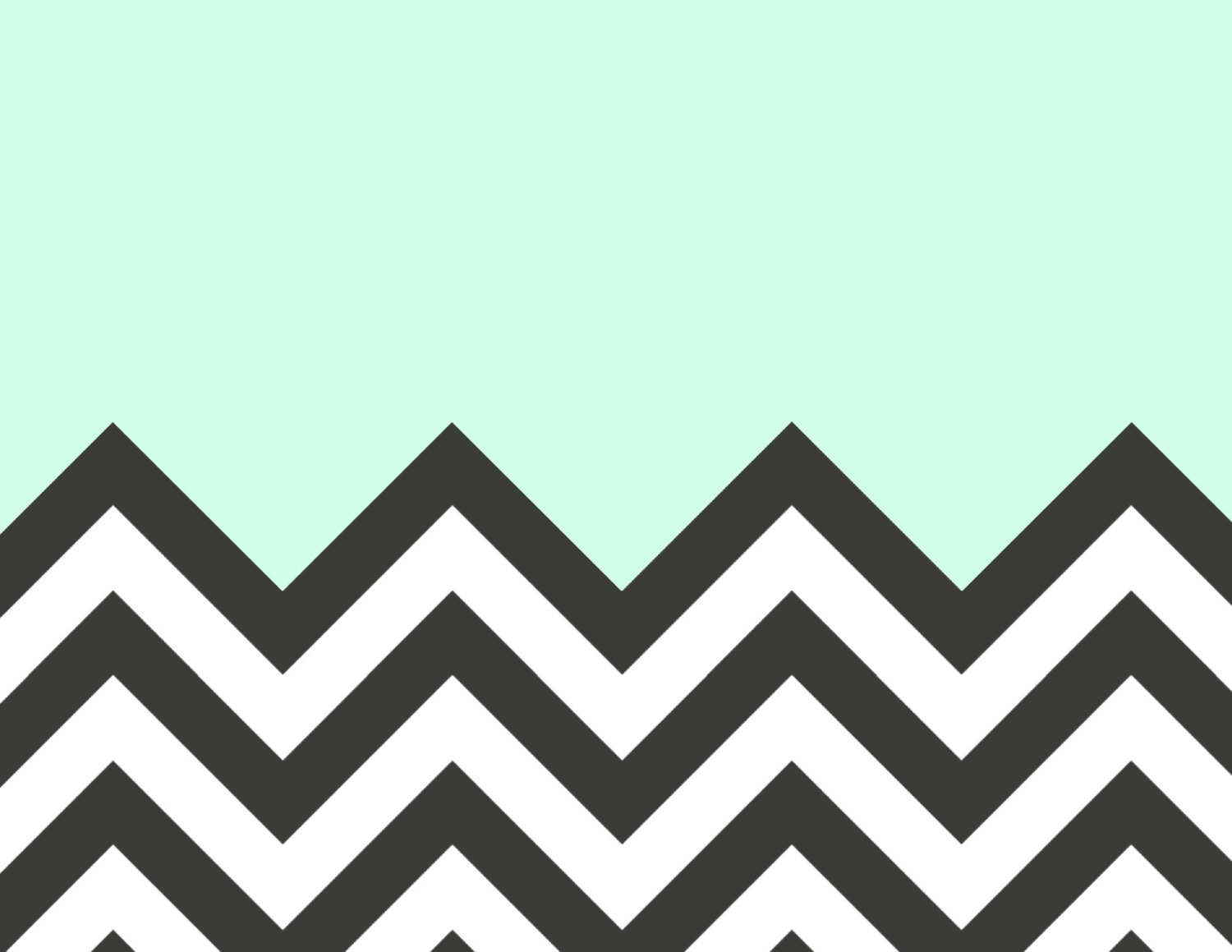 Green Chevron Computer Wallpaper