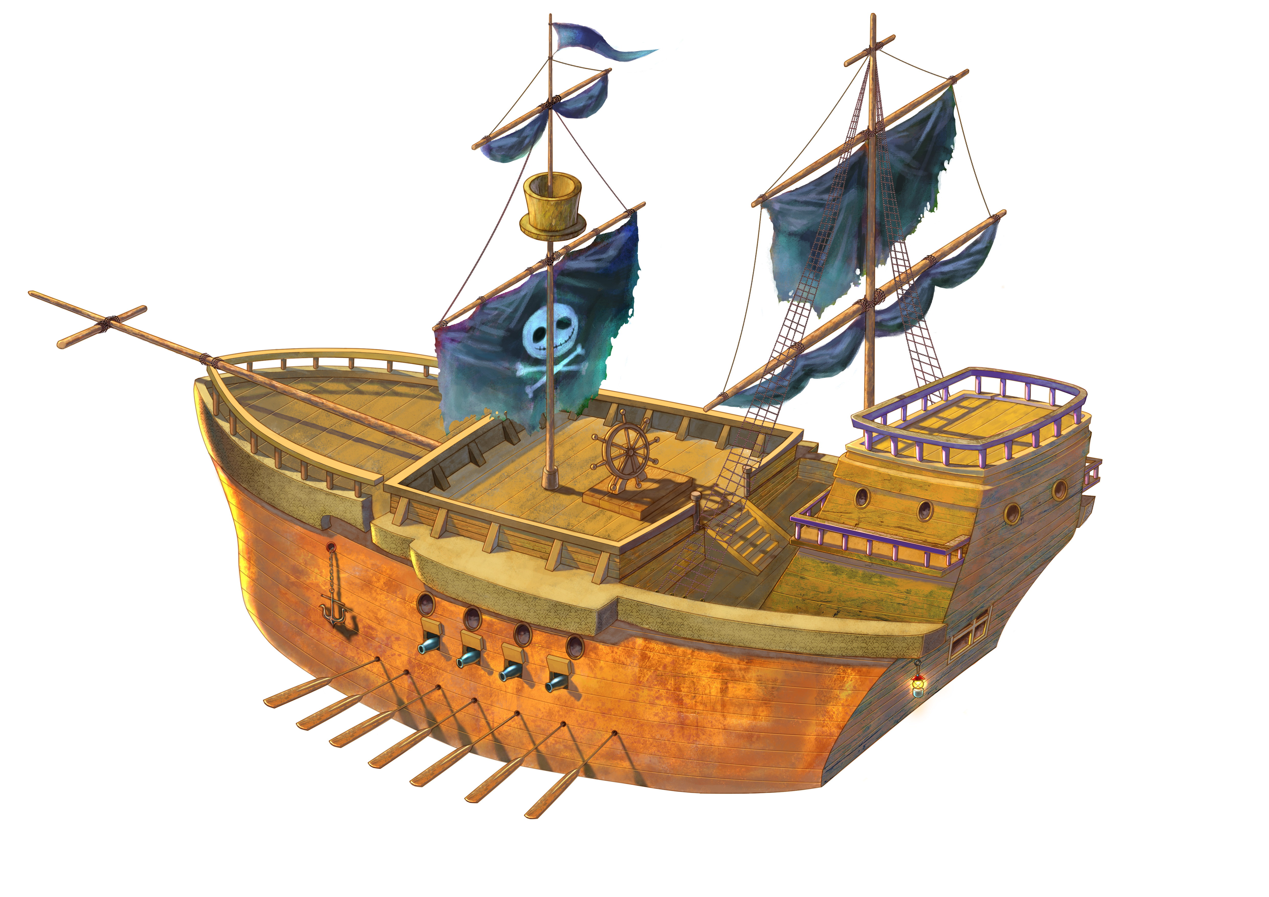 Animated pirate ships - photo#20