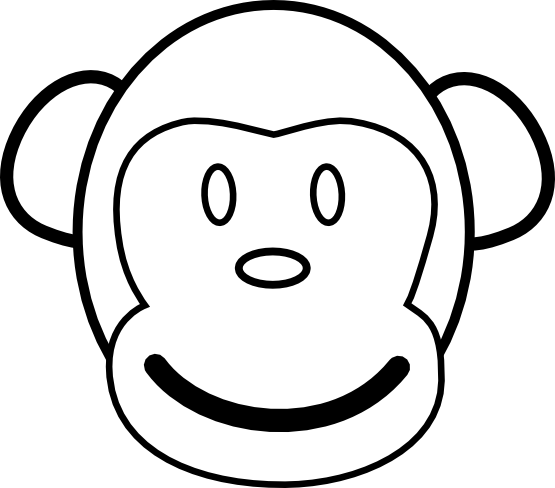 Monkey Tattoo Clipart Best
