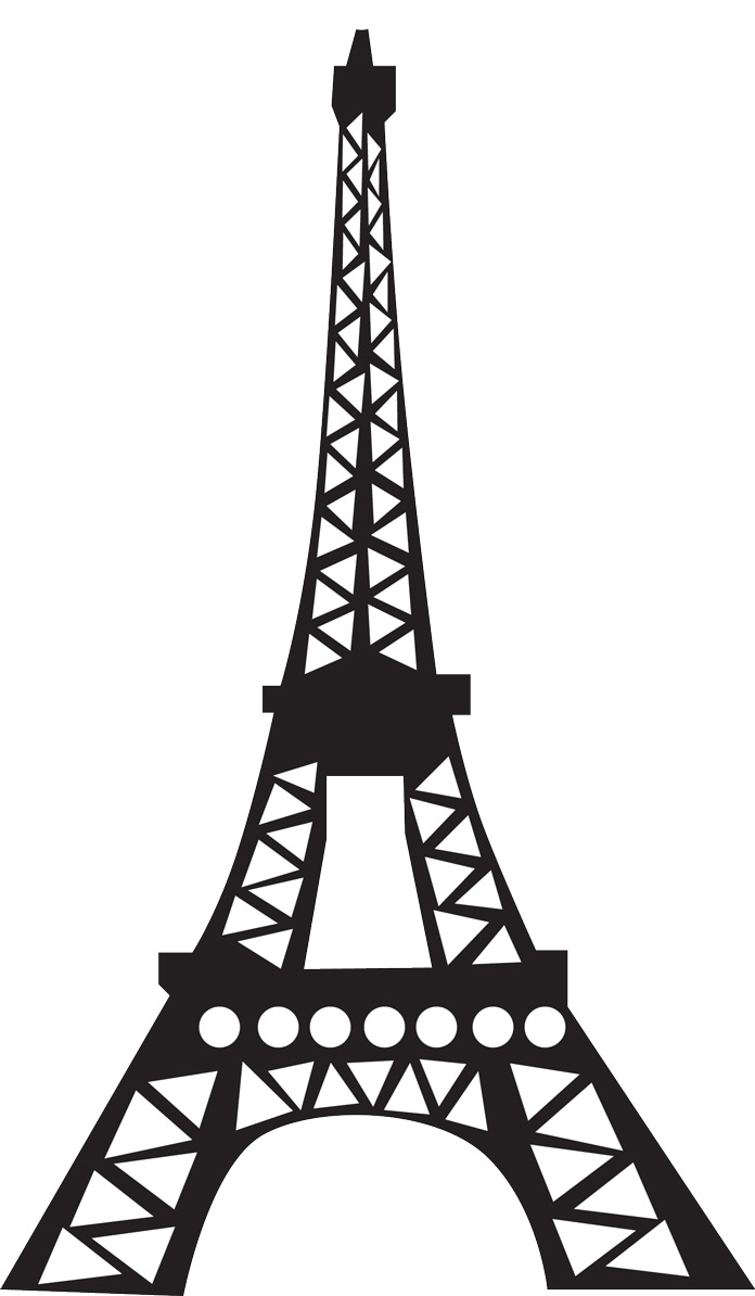 easy eiffel tower doodle - photo #9