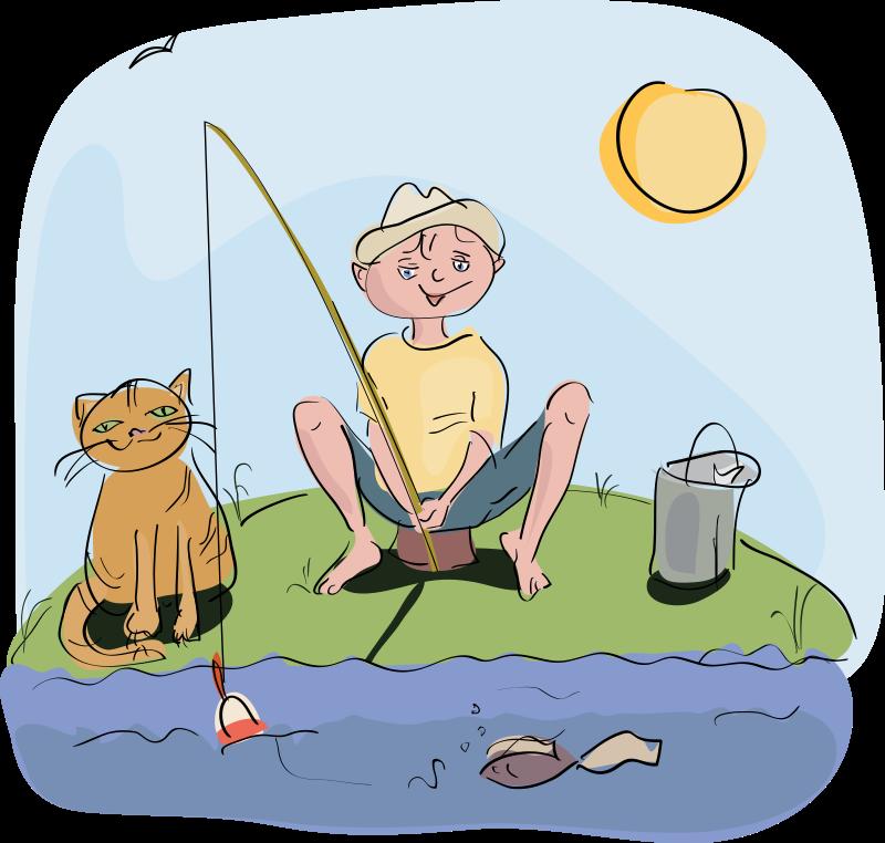 Fishermans net clip art