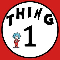 photo regarding Thing 1 and Thing 2 Printable Cutouts called Hair Factor 1 Brand Equivalent Keyword phrases Rules - Hair