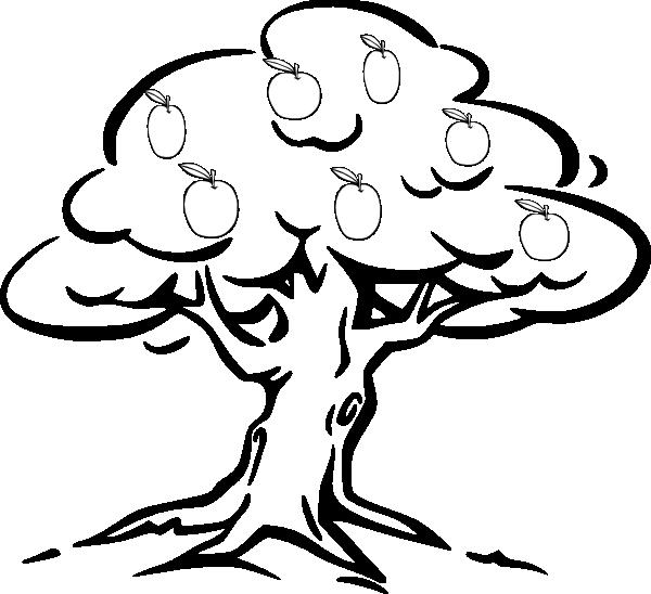 Apple Tree Clip Art Vector Clip Art Online Royalty Free