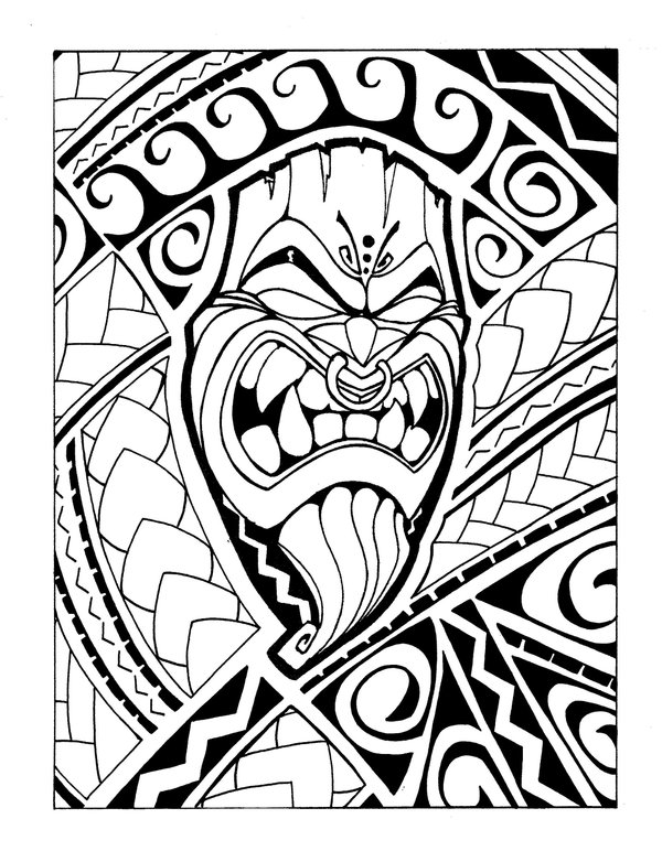 Samoan Art Designs : Samoan drawings clipart best