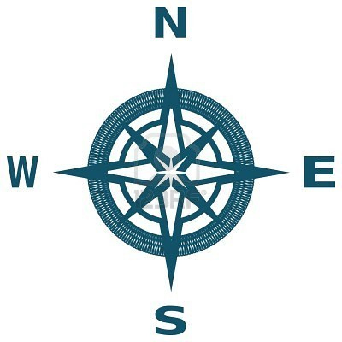Picture Of A Compass - ClipArt Best