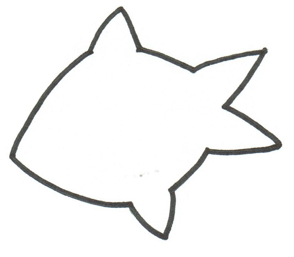 goldfish template clipart best goldfish template 1000 ideas about fish template