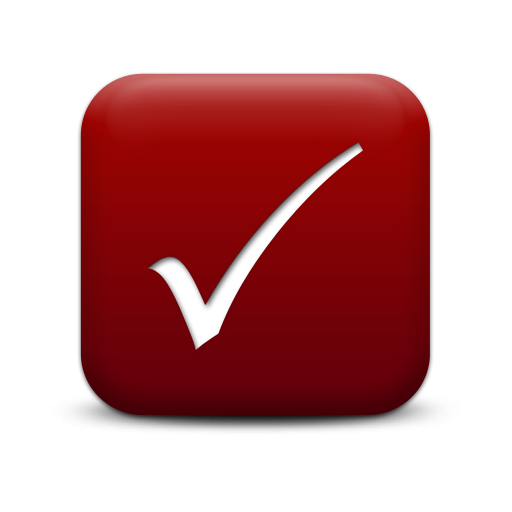 Red Check Mark - ClipArt Best