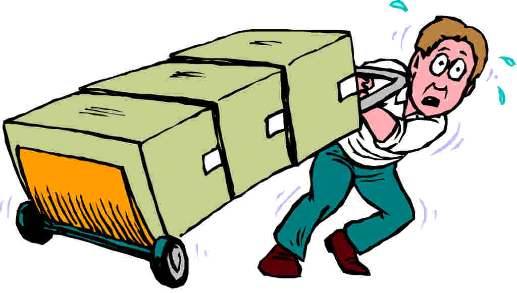 Moving Boxes Clipart - ClipArt Best