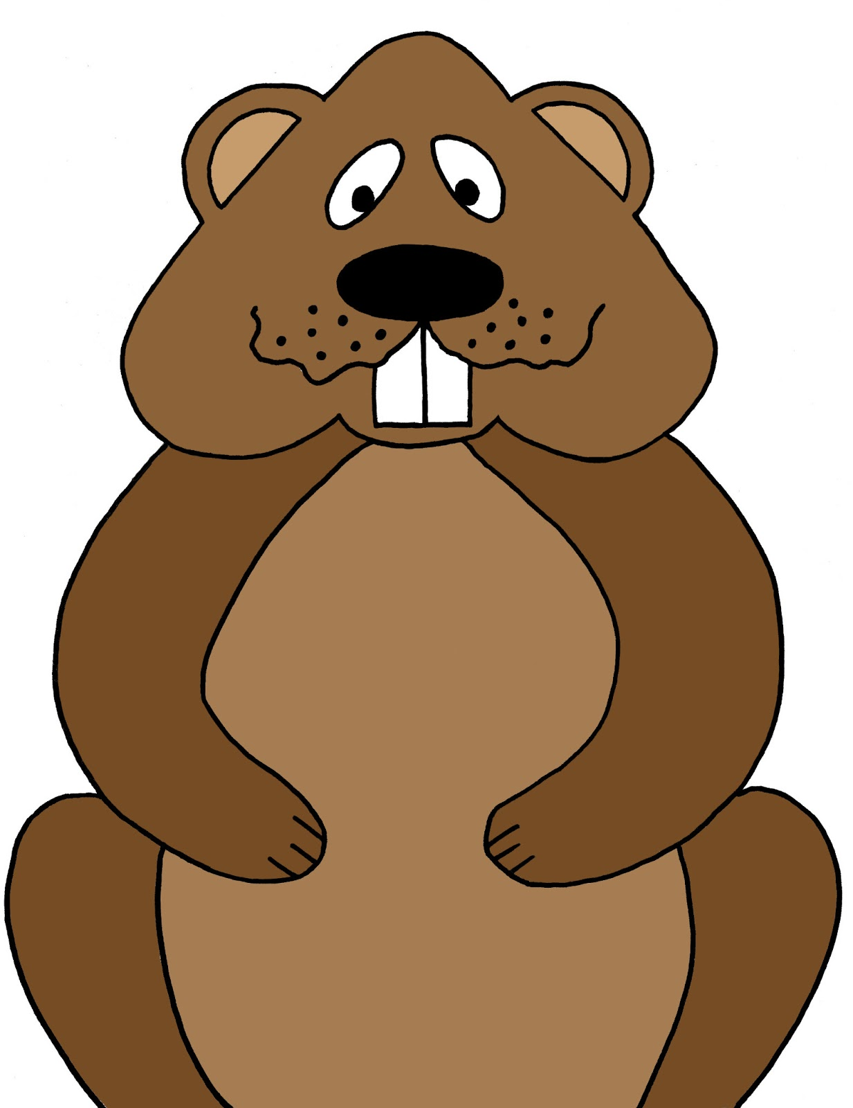 Woodchuck Clip Art Illustrations - Clipart Guide