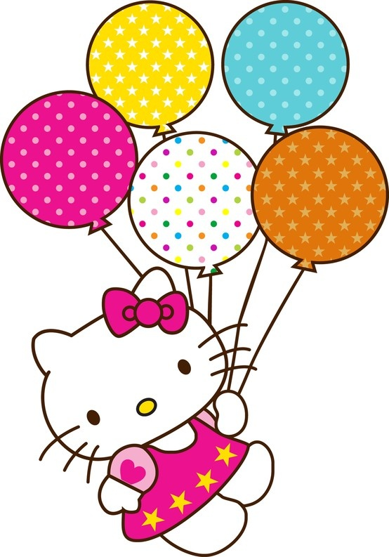 Hello Kitty on Pinterest | Hello Kitty, Hello Kitty Wallpaper and Hel: www.clipartbest.com/hello-kitty-with-balloons-images