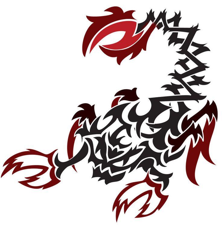 Tribal Scorpion By White Tigress 12158 On Deviantart: Scorpion Artwork