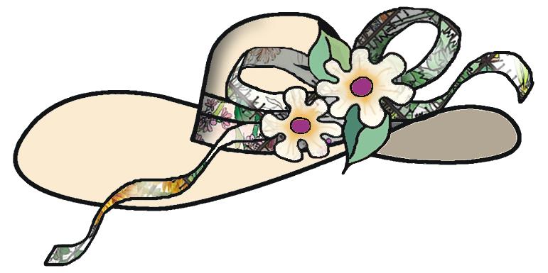Lady hat clip art