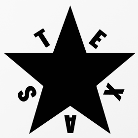 Texas Star Black and White - Pics about space