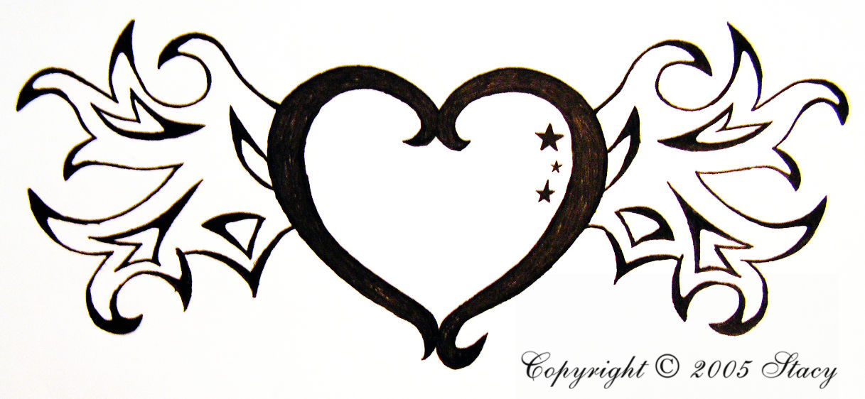 Cool Heart Designs To Draw Easy - ClipArt Best Easy Heart Designs To Draw