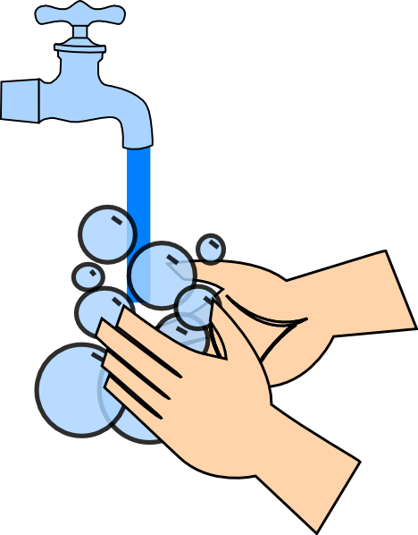 Wash Your Hands Clipart