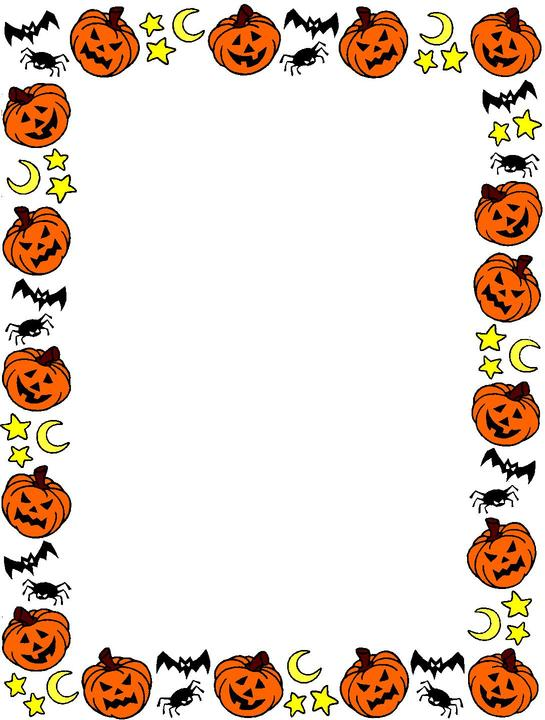 Halloween Border Clipart - Free Clipart Images