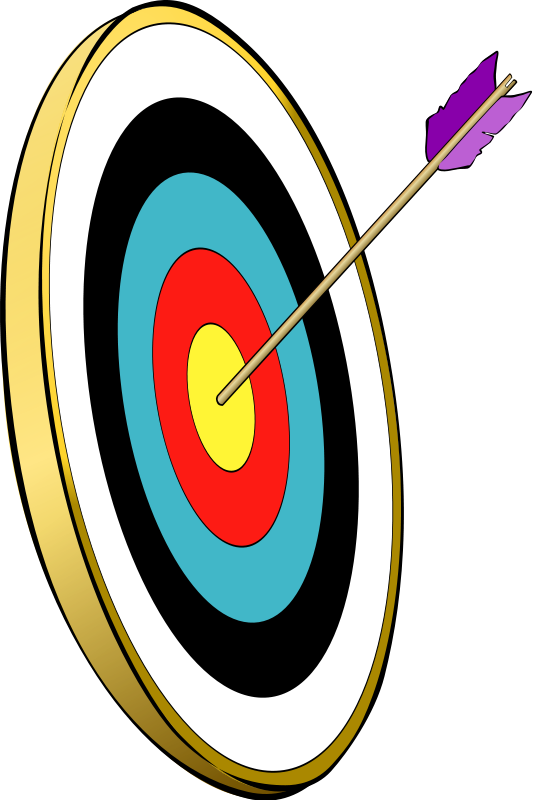 clip art arrow target - photo #39