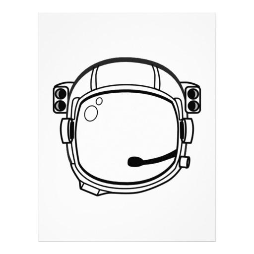 Astronaut Helmet Drawing - ClipArt Best