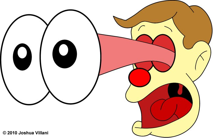 Homer Simpson Hot Dog In Eye