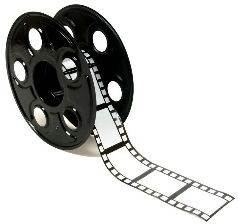 Film Reel Logo Clipart - Cliparts and Others Art Inspiration
