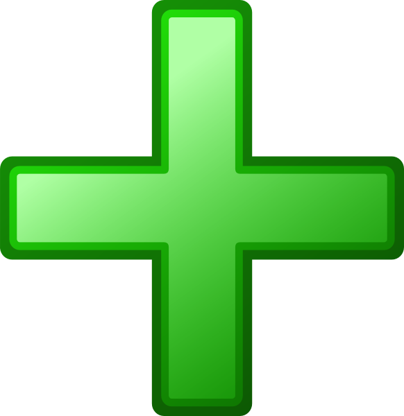 Green Cross clip art - vector clip art online, royalty free ...