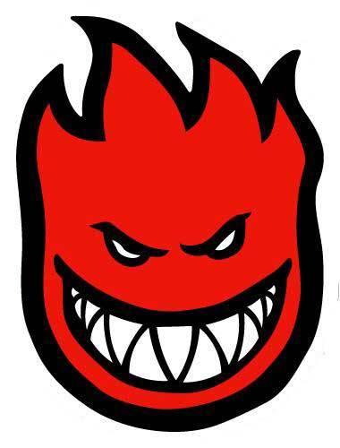 Skateboard Logo... J Logo Fire