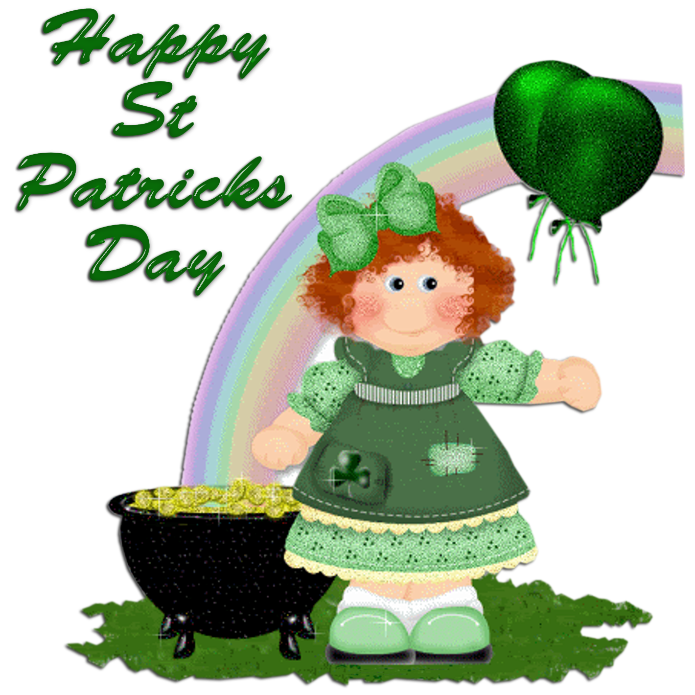 This is a photo of Priceless Free Printable Clipart for St Patrick's Day