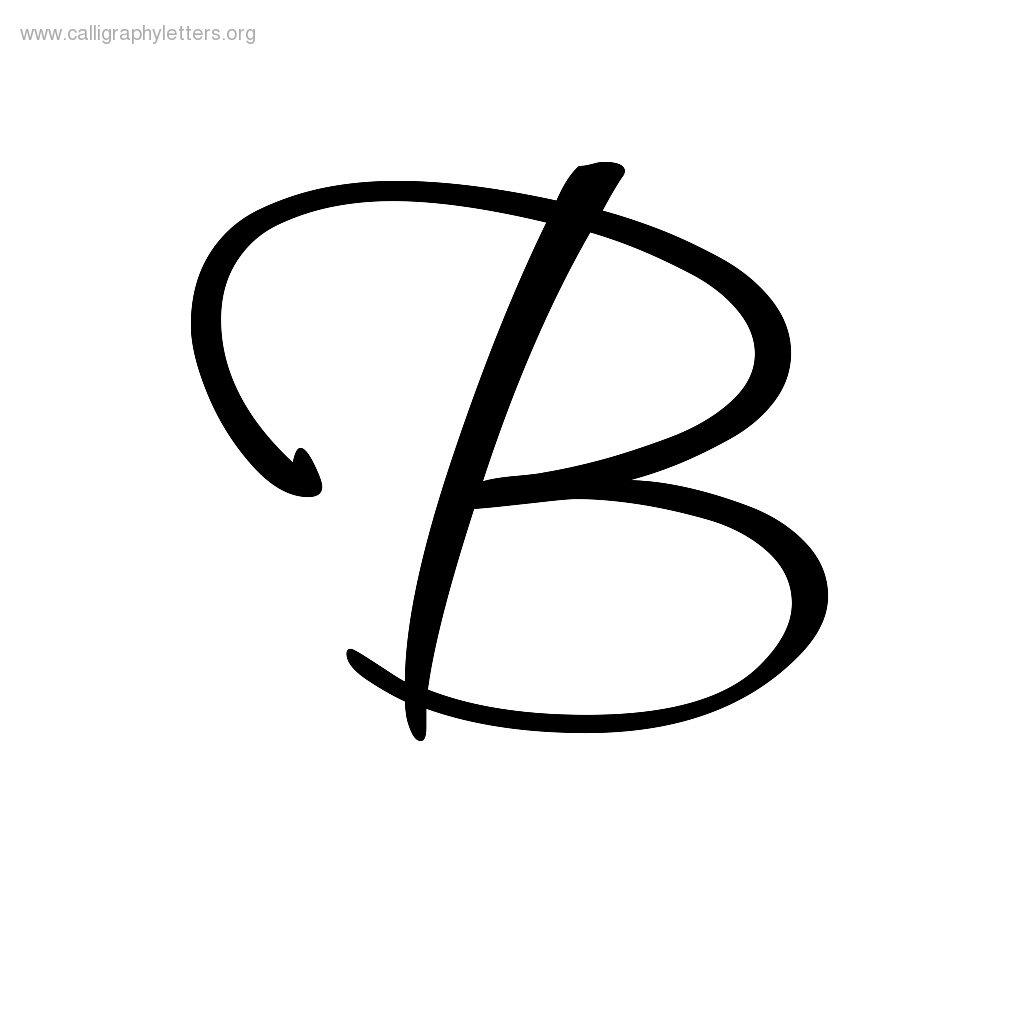 Worksheet Cursive Letters B calligraphic letter b clipart best cursive coffemix