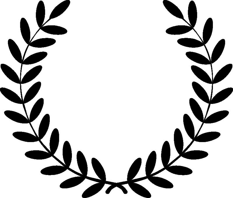 laurel wreath graphic design
